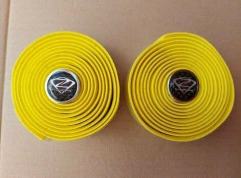 4ZA Cork Yellow Handlebar / Bar Tape